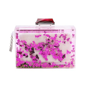 Kotur Social Butterfly Glitter Globe Clutch $395 at Shopbop